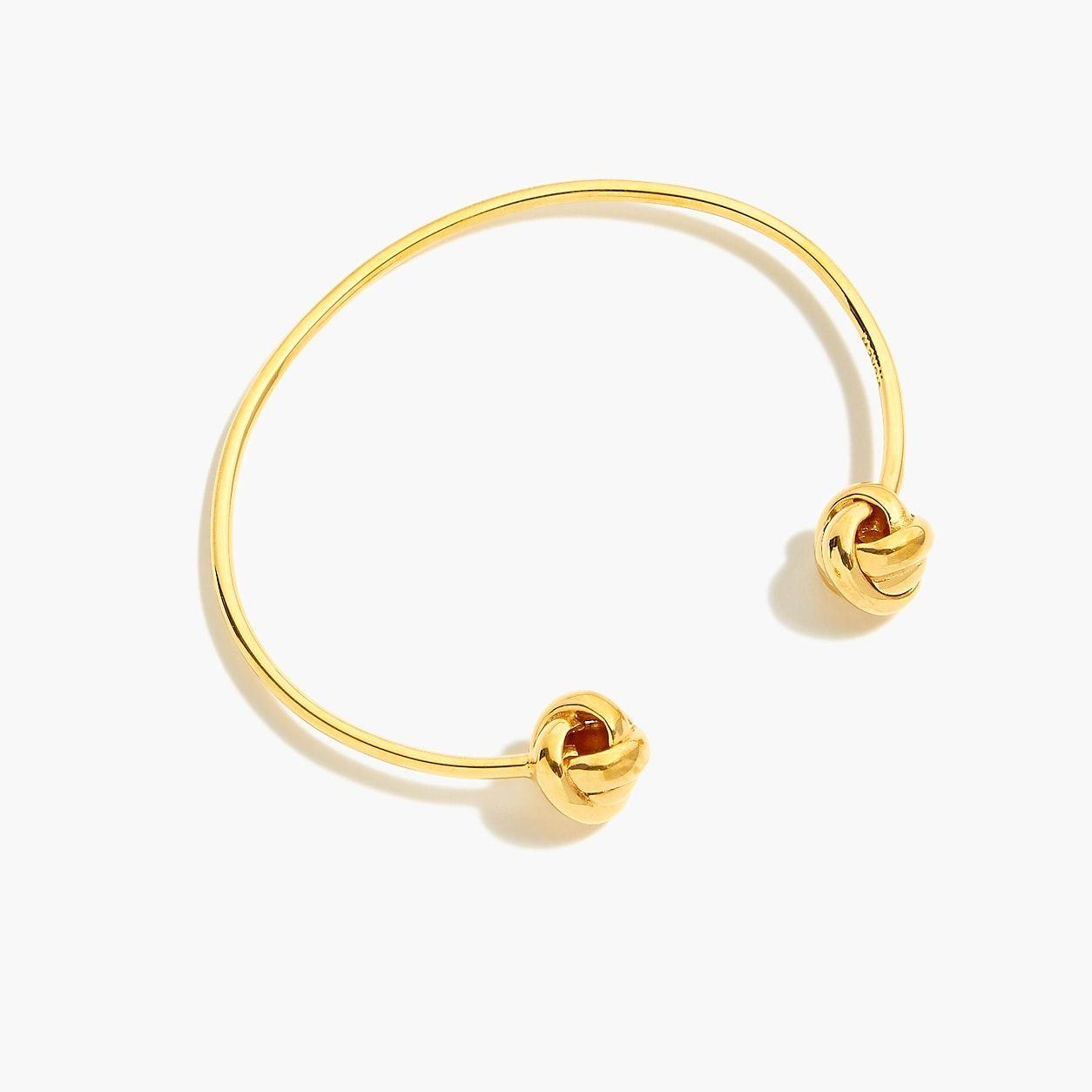 faeb2c07eb0 Demi-Fine 14K Gold-Plated Knot Cuff in 2019 | Products | Jewelry ...