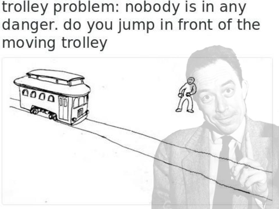 Trolley Problem Meme Covid