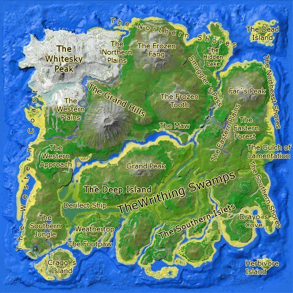 Click On A Region Game Ark Survival Evolved Ark Survival
