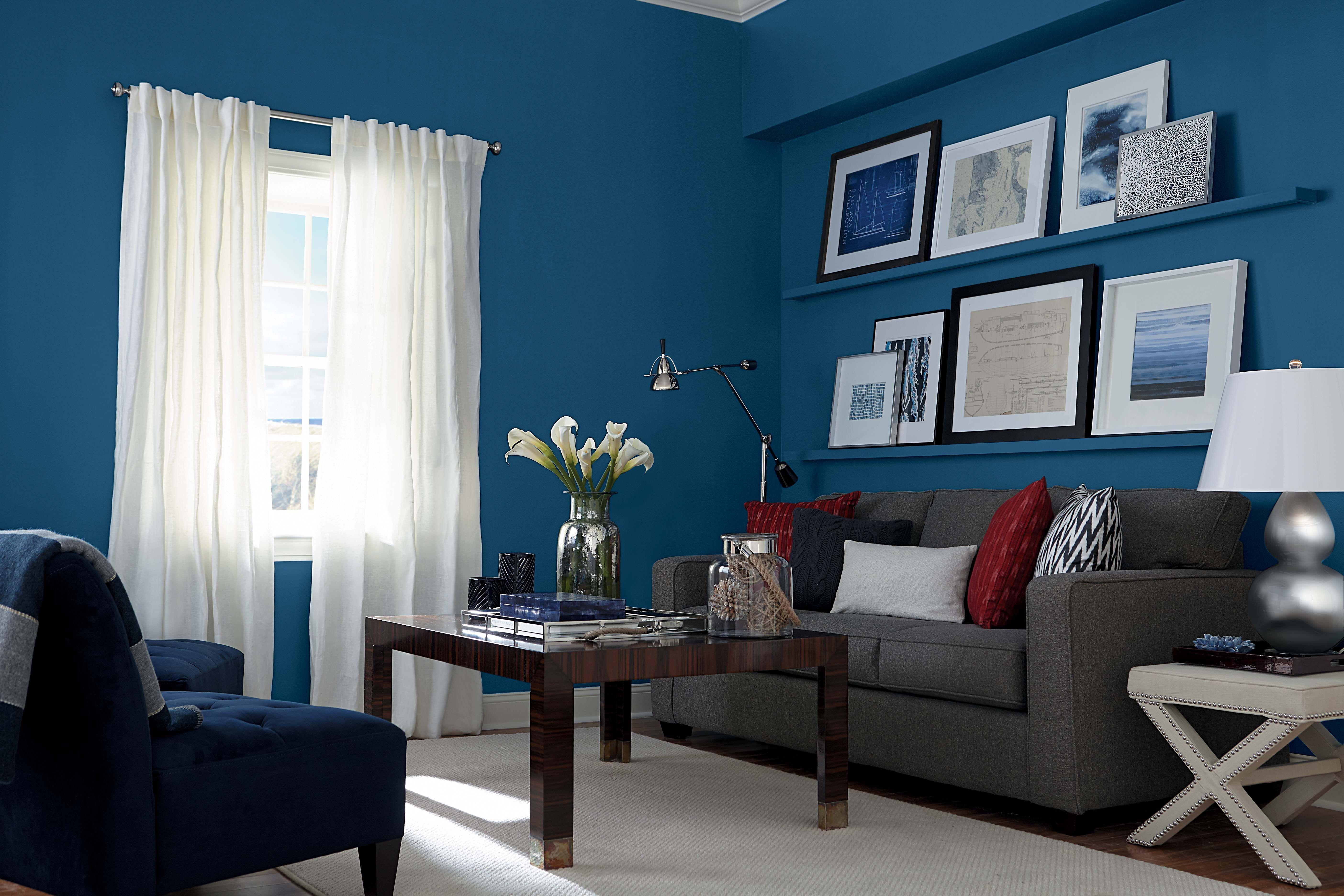 Designer Tip: Big colors envelop and define a space. Add a ...