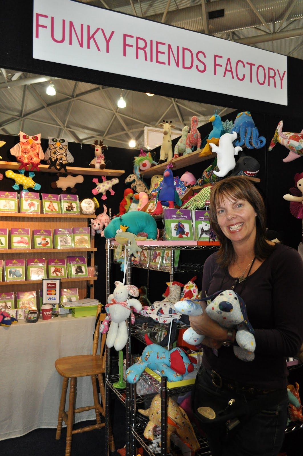 Funky Friends Factory out and about! Pauline McArthur at the ... : brisbane craft and quilt fair - Adamdwight.com