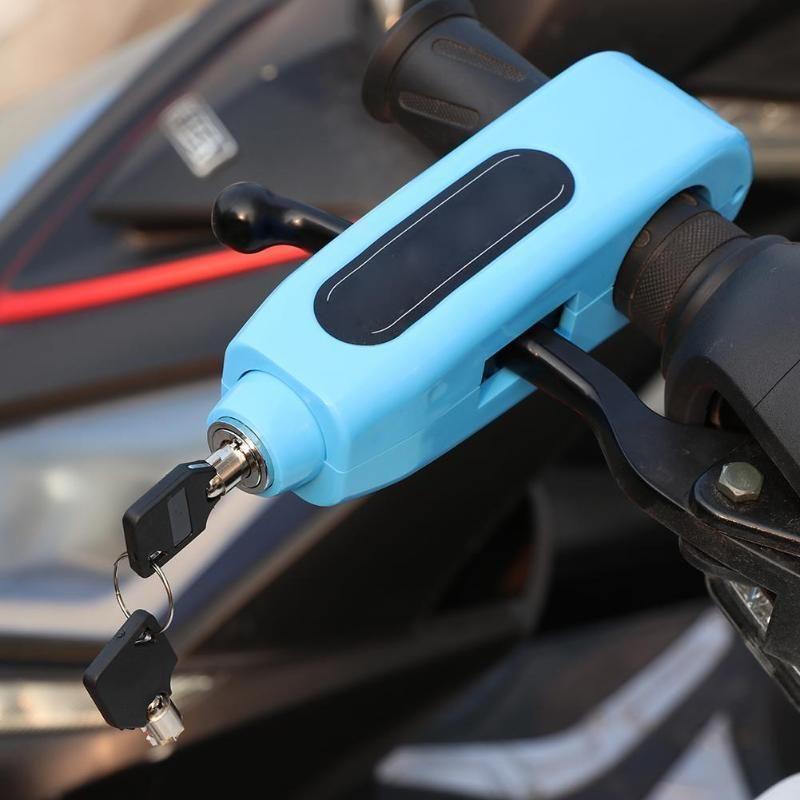bloqueo de seguridad para ciclismo Festnight Bloqueo antirrobo para bicicleta alarma de vibraci/ón bloqueo mando a distancia inal/ámbrico la distancia de detecci/ón efectiva es superior a 10 m