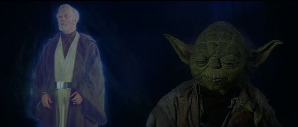 Image result for yoda and ben on dagobah