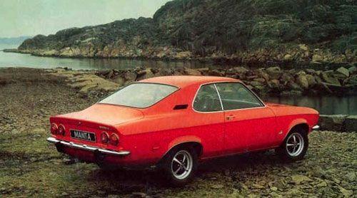 1970 opel manta