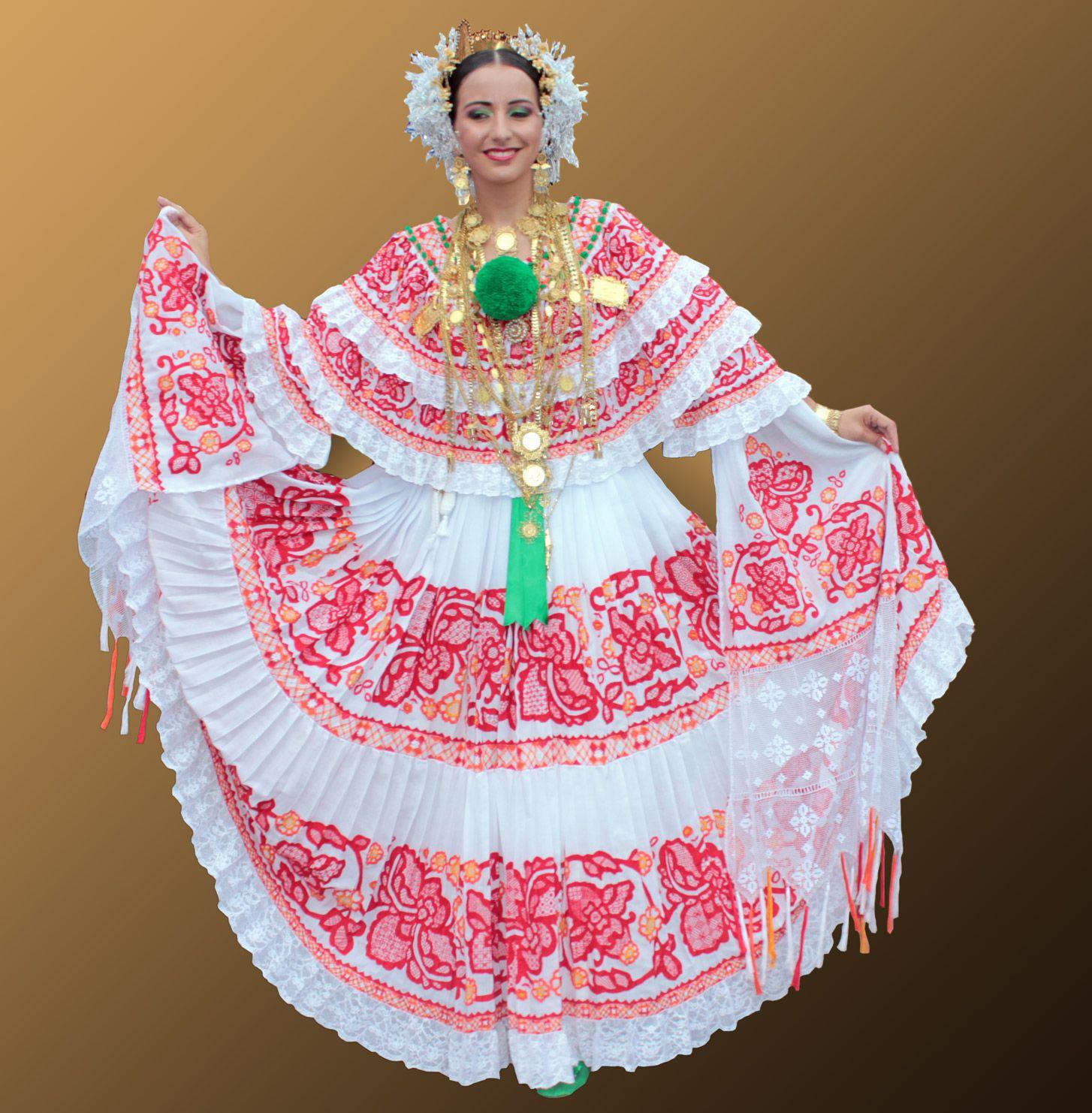 Pollera, Panama | Panama Culture | Panama, Traditional ...
