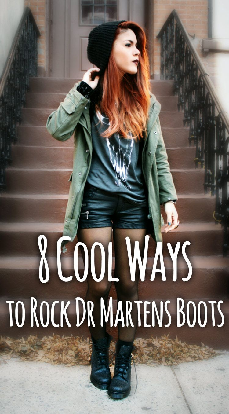 ad6d3cdae1c See 8 cool ways to Rock Dr Martens Boots - http   ninjacosmico.