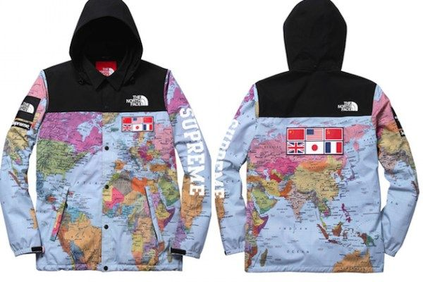 The North Face X Supreme Expedition Coaches Jacket And Backpack Jackets Coach Jacket Supreme Clothing