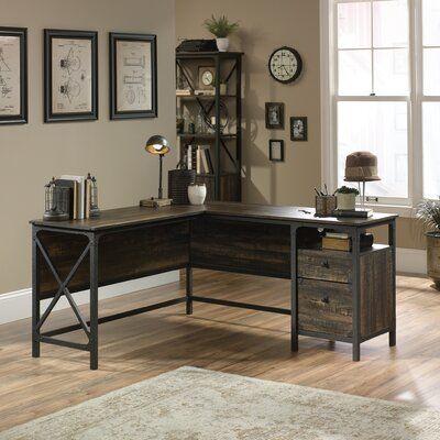 Williston Forge Ulibarri L-Shape Executive Desk | Wayfair