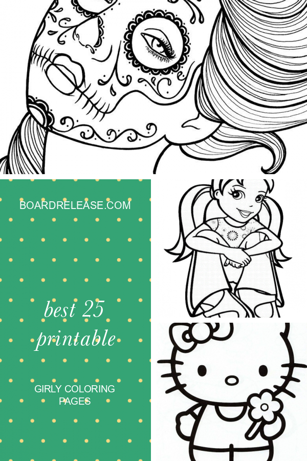 Best 25 Printable Girly Coloring Pages Unicorn Coloring Pages Cute Coloring Pages Coloring Pages For Girls