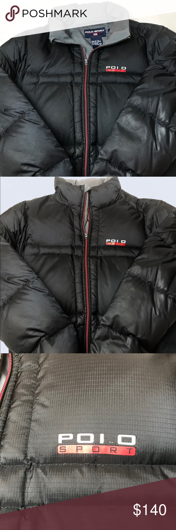Polo Sport Puffer Jacket This Is A Polo Sport Puffer Jacket Down Jacket In Great Condition Size L It Is Black Wit Puffer Jackets Jackets Ralph Lauren Jackets [ 1740 x 580 Pixel ]