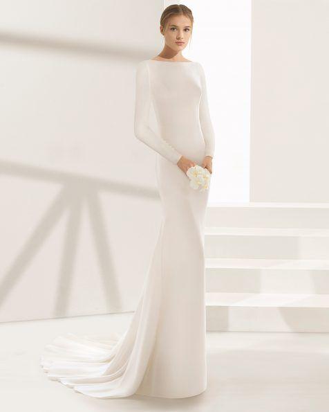 dylan - novia 2018. colección rosa clará couture | novias con estilo