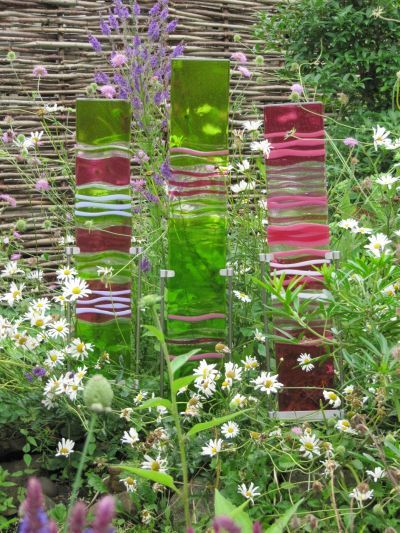 Nice Glass Panels For Outdoor Decoration