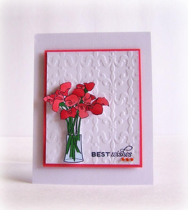 Best Wishes Card by @Latisha Yoast