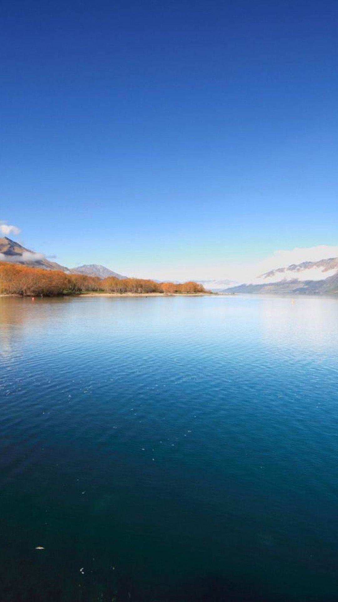 Beautiful Wonder Peaceful Mountains Pure Lake iPhone 6