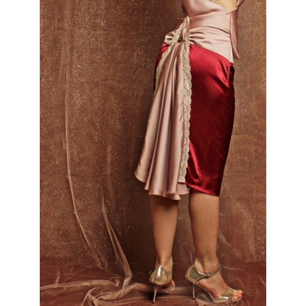 Art Deco Tango Skirt Spódnica