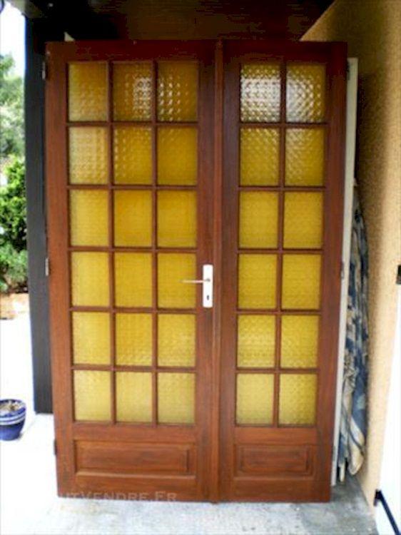 Double porte intérieur vitrée ddd Pinterest - changer serrure porte interieure