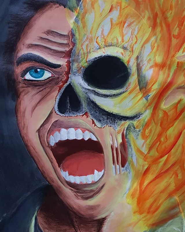 Ghostrider Ghost Rider Pictures Ghost Rider Halloween Face