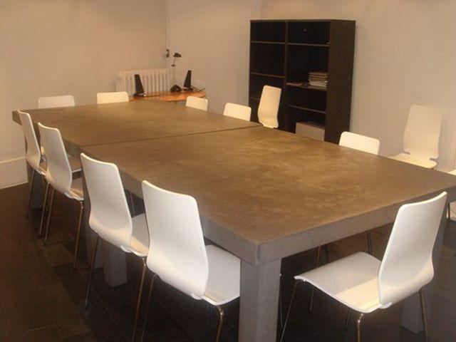 Meubels van beton cire | Beton cire meubels | meubilair van beton ...