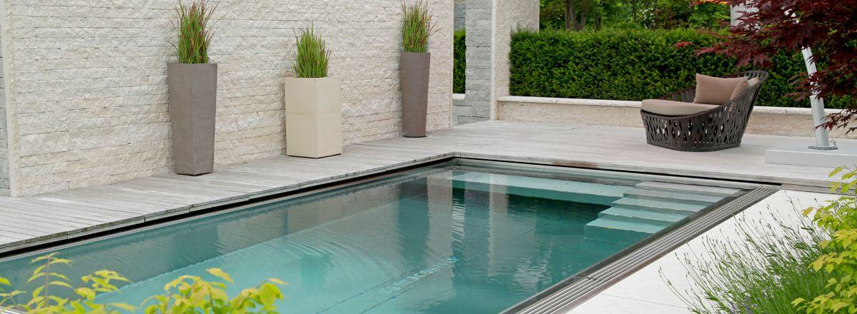 Edelstahl Swimming Pool · EdelstahlSchwimmbeckenPetraWohnideen