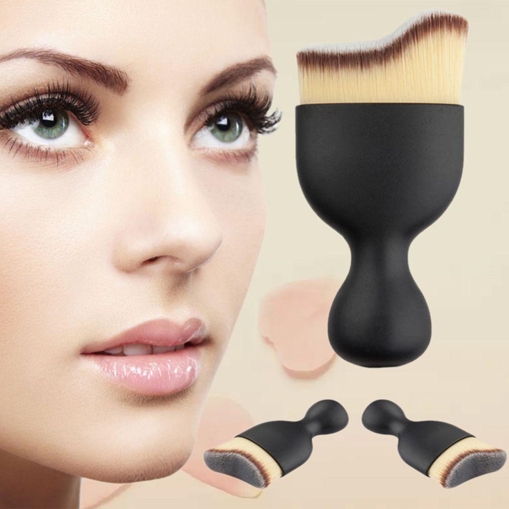 Contour Makeup Brush Pro Foundation Brush BB Cream Facial Shadows Cream Makeup Brushes Powder Brush