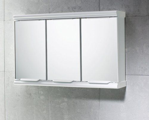 Gedy 3 Door Mirror Bathroom Cabinet White Gloss Gedy Http Www