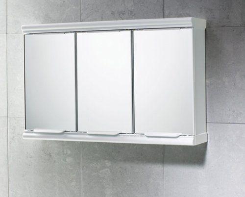 Gedy 3 Door Mirror Bathroom Cabinet