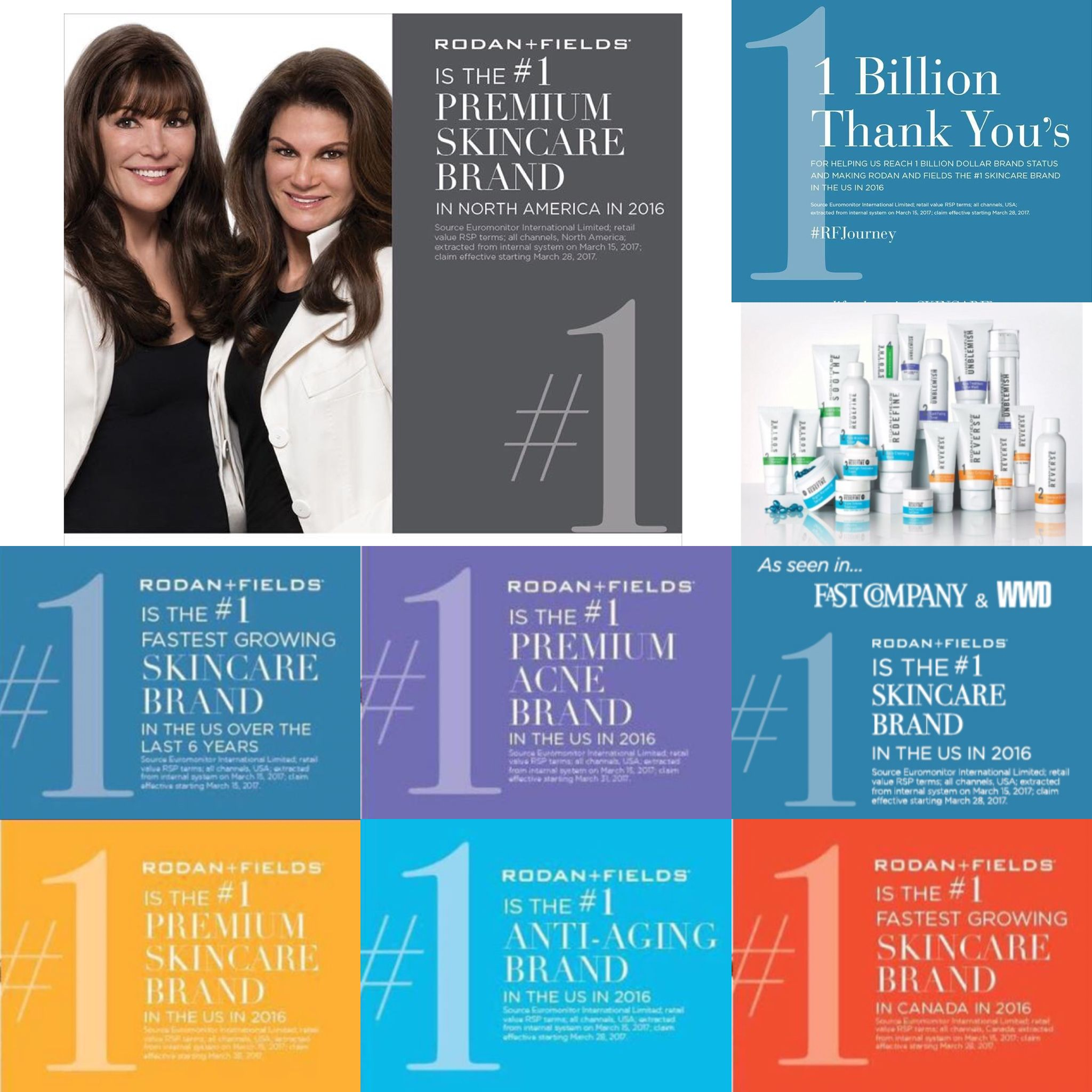 Number ONE. Best Skincare products in North America