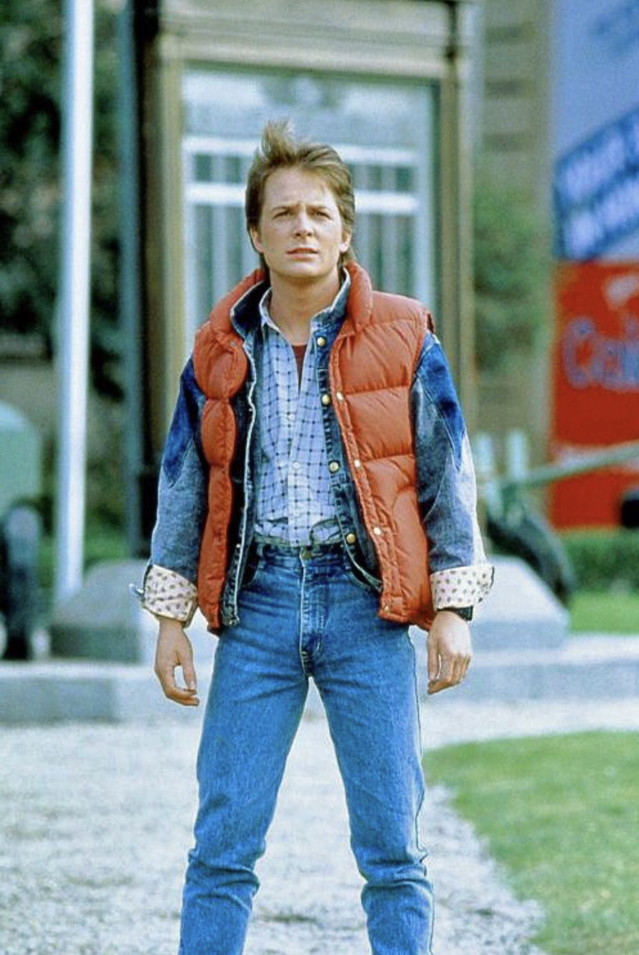 Back To The Future Marty Mcfly Costume Marty Mcfly Back To The Future [ 1857 x 1242 Pixel ]
