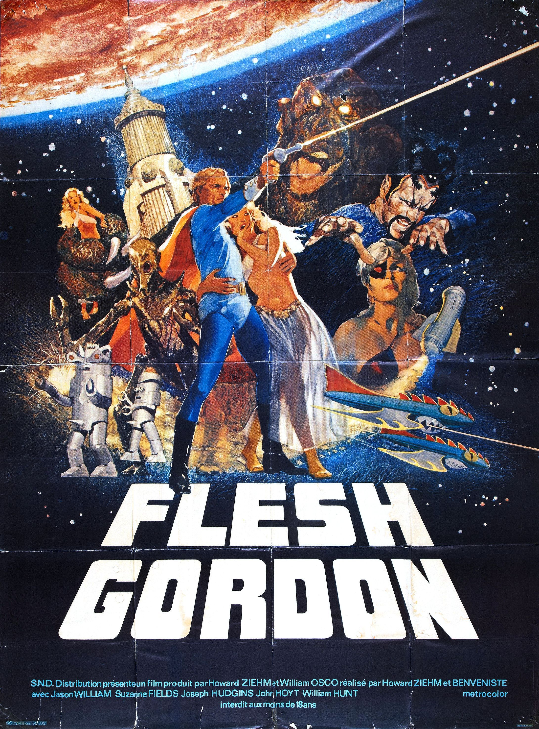 Flesh Gordon 1974 Movie Posters B Movie Film Posters