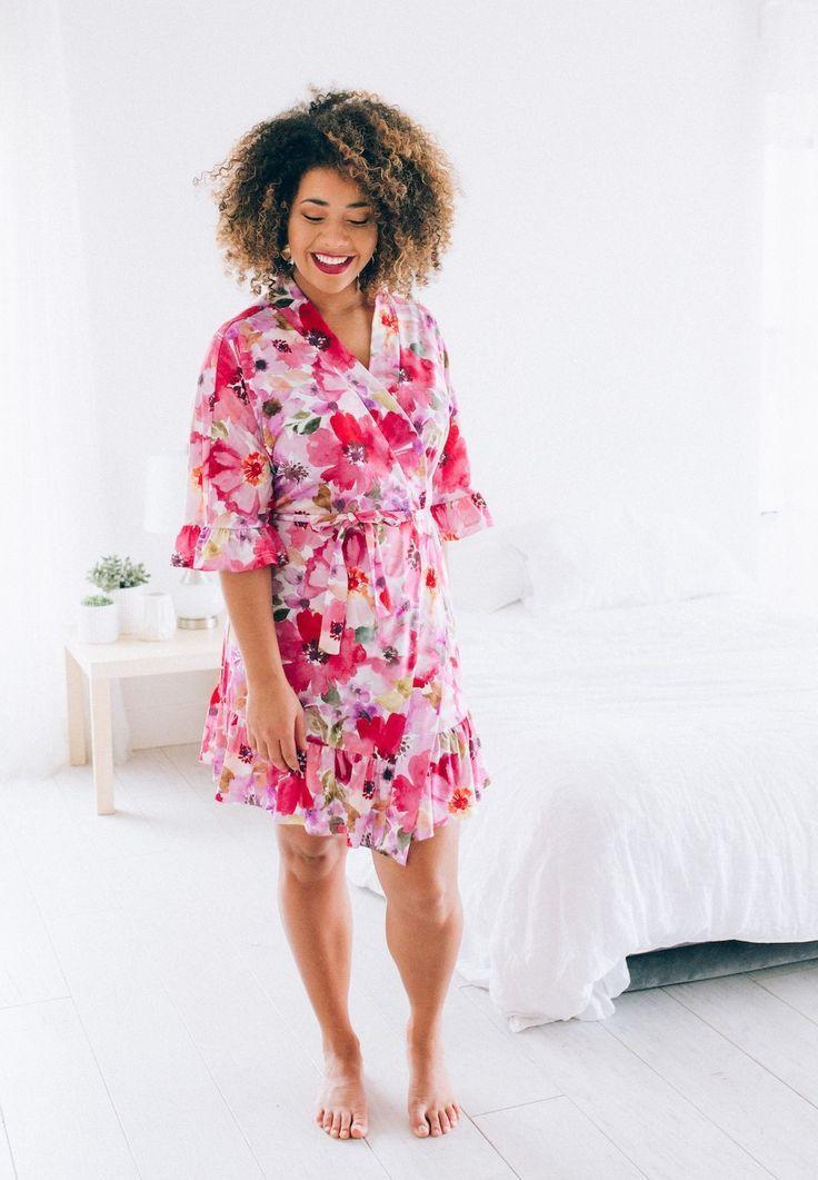 Aster Floral Robe | Brickyard Buffalo | Daily Boutique Deals