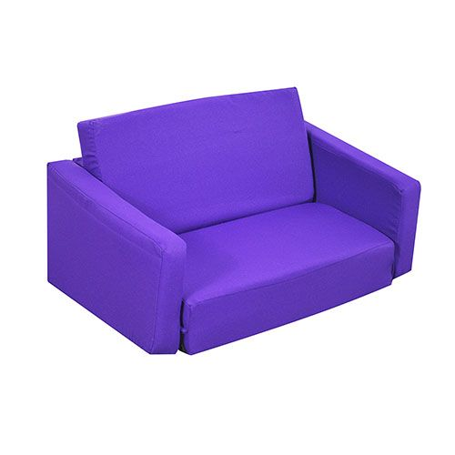 Leather Sofas Kids Purple Sleeper Sofa