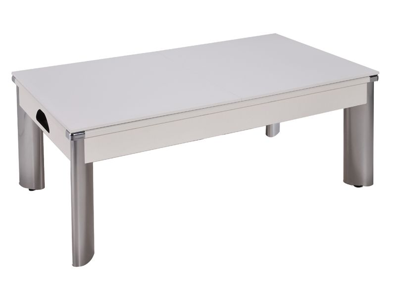 Fusion Pool Dining Table White Ft Ft Free Delivery Braai - Fusion pool table price