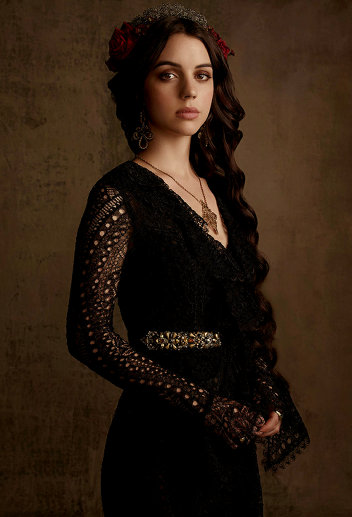 New promotional photoshoot of Adelaide Kane as Mary Stuart ...