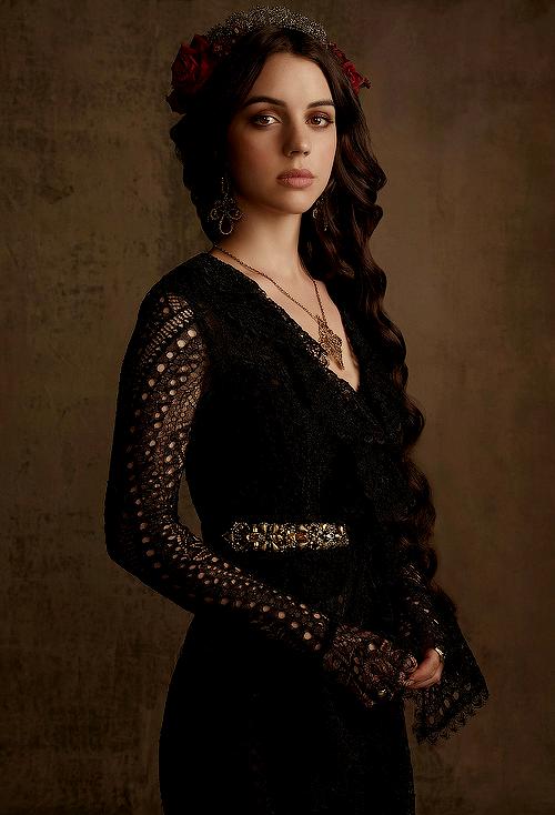 New promotional photoshoot of Adelaide Kane as Mary Stuart ...