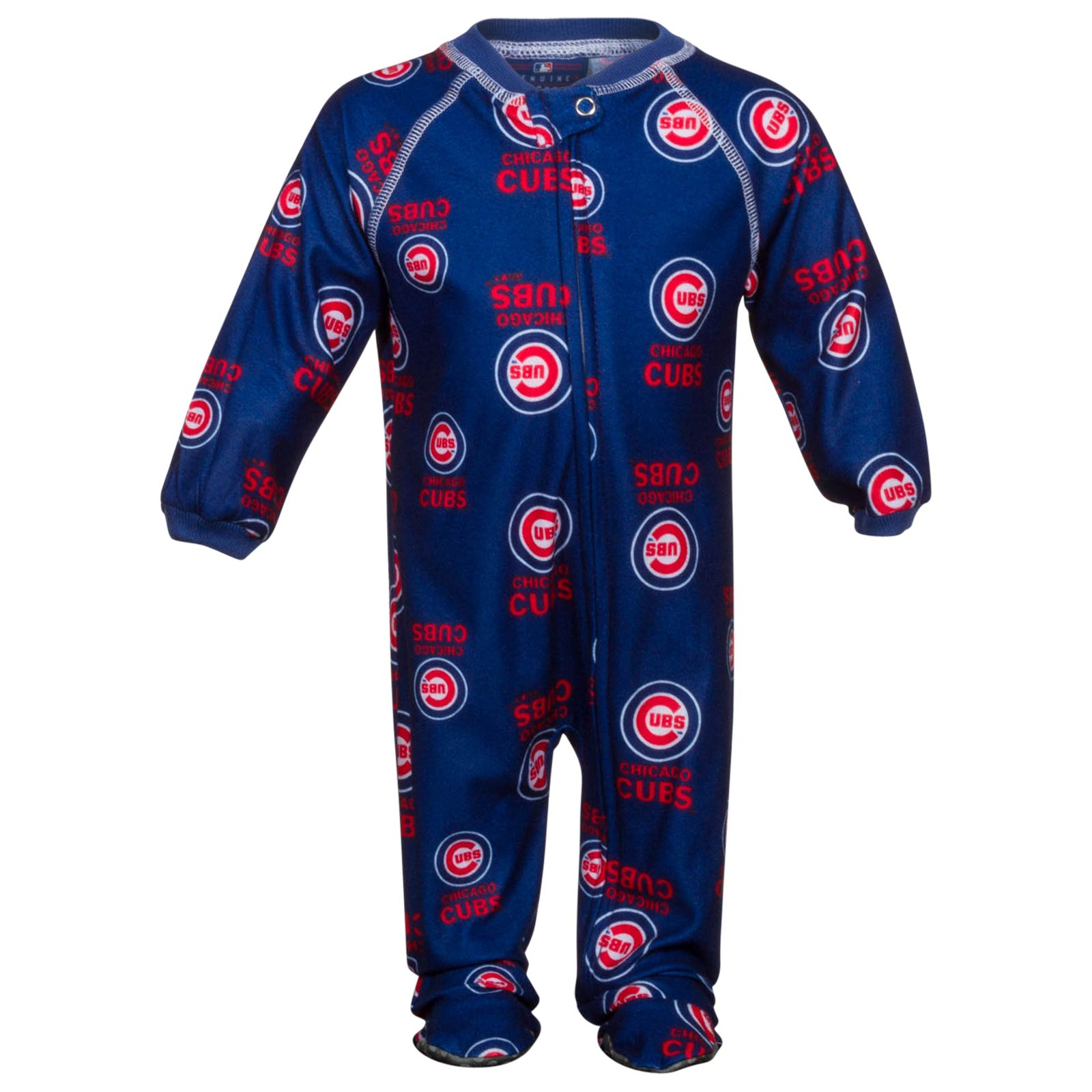 e06ed5906 Chicago Cubs Infant Full-Body Onesie with Bullseye Pattern by Genuine Stuff  #Chicago #Cubs #ChicagoCubs