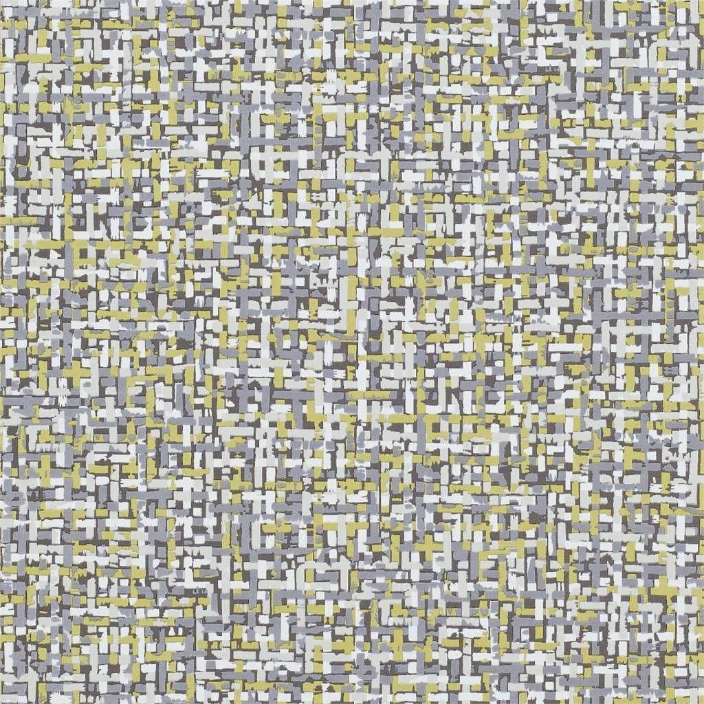 Patroon Tota (HJAR110690), is een patroon gemaakt van allemaal kleine penseelstreepjes waardoor je een textuur krijgt alsof het een tweed stof is. Een vlies behang met rapport, met spons afneembaar.