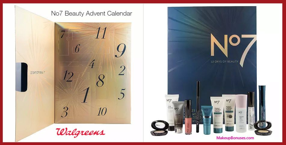 No7 Beauty Advent Calendar Countdown To Christmas Makeupbonuses