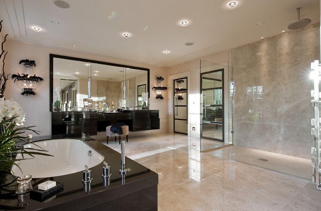 Modern Mansion Master Bedrooms master bath suite | 1201 laurel way, beverly hills | pinterest