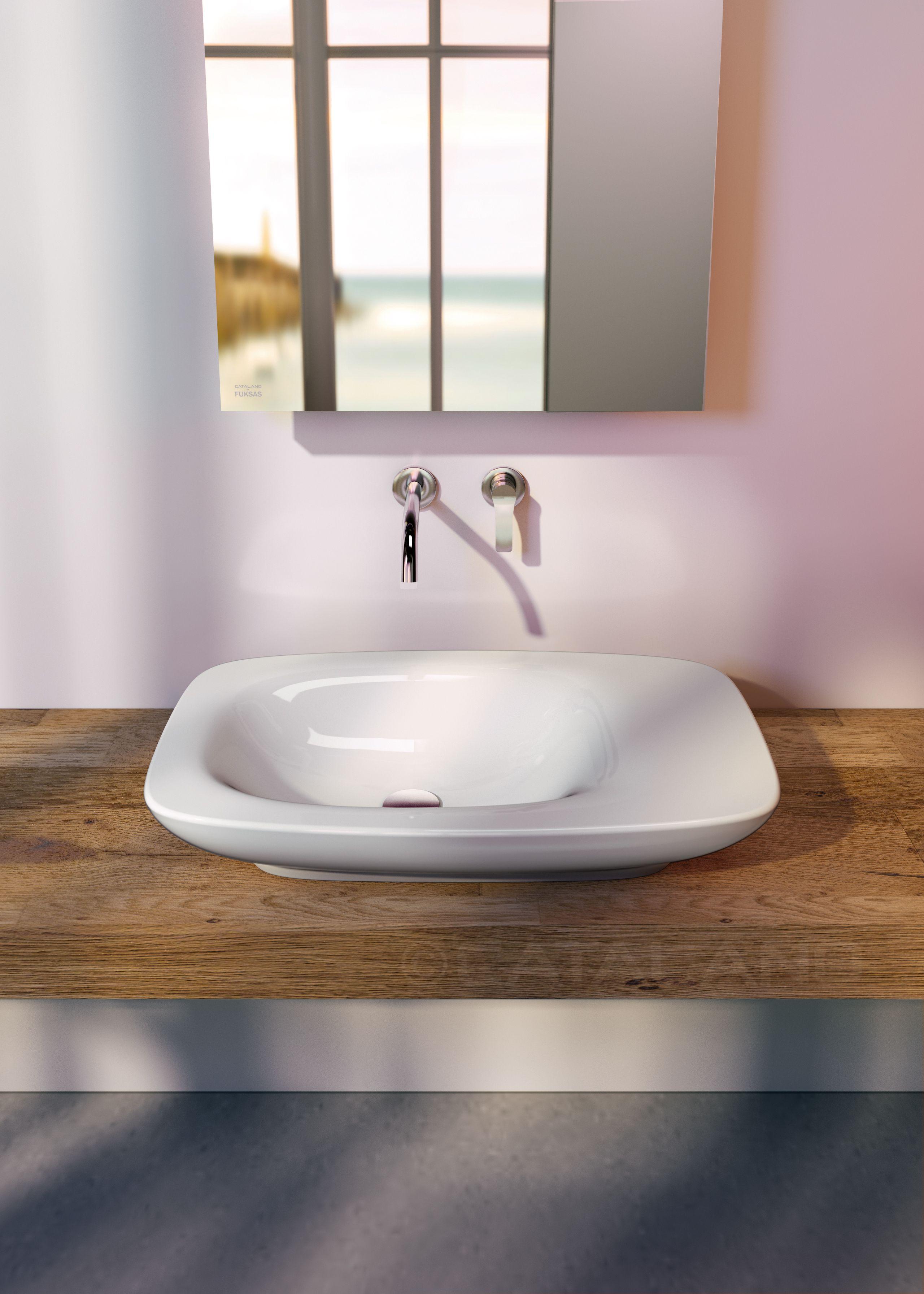 IMPRONTA 75X45 BY DORIANA E MASSIMILIANO FUKSAS Il lavabo da ...