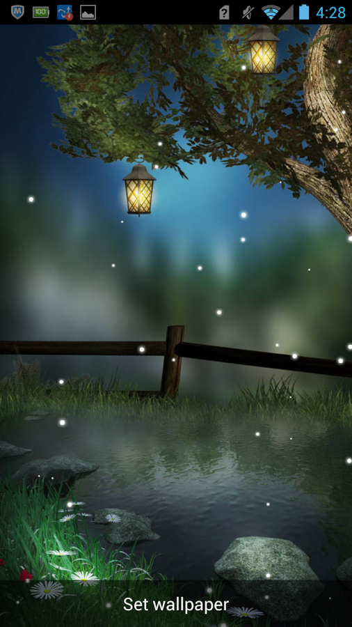 Pin By Nana On Evenings Fireflies Live Wallpapers