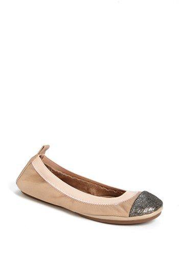 81ebed953f8 Yosi Samra Foldable Ballet Flat