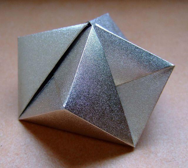 Caixa Origami Cindy 9 Cantos Paper Folding Photos Pinterest