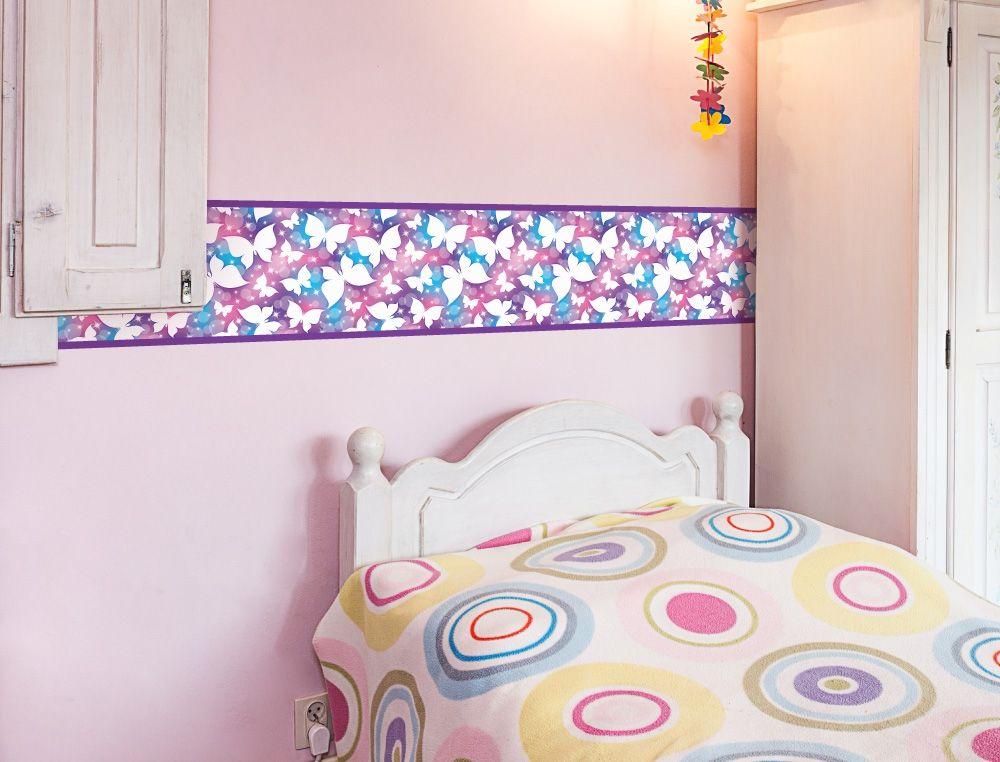 Schmetterling Bordüre für Kinderzimmer - I-love-Wandtattoo.de ...