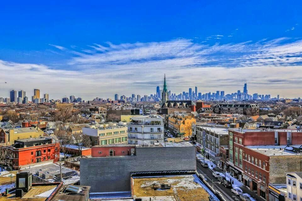 My gorgeous Chi Town, pic by SY
