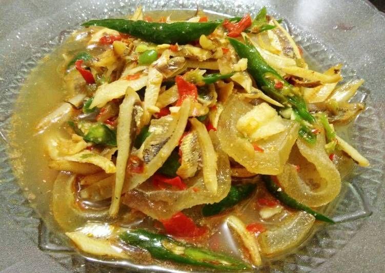 Resep Sambal Jos Teri Kikil Oleh Dapoer Memey Resep Makanan Resep Masakan Resep Makanan