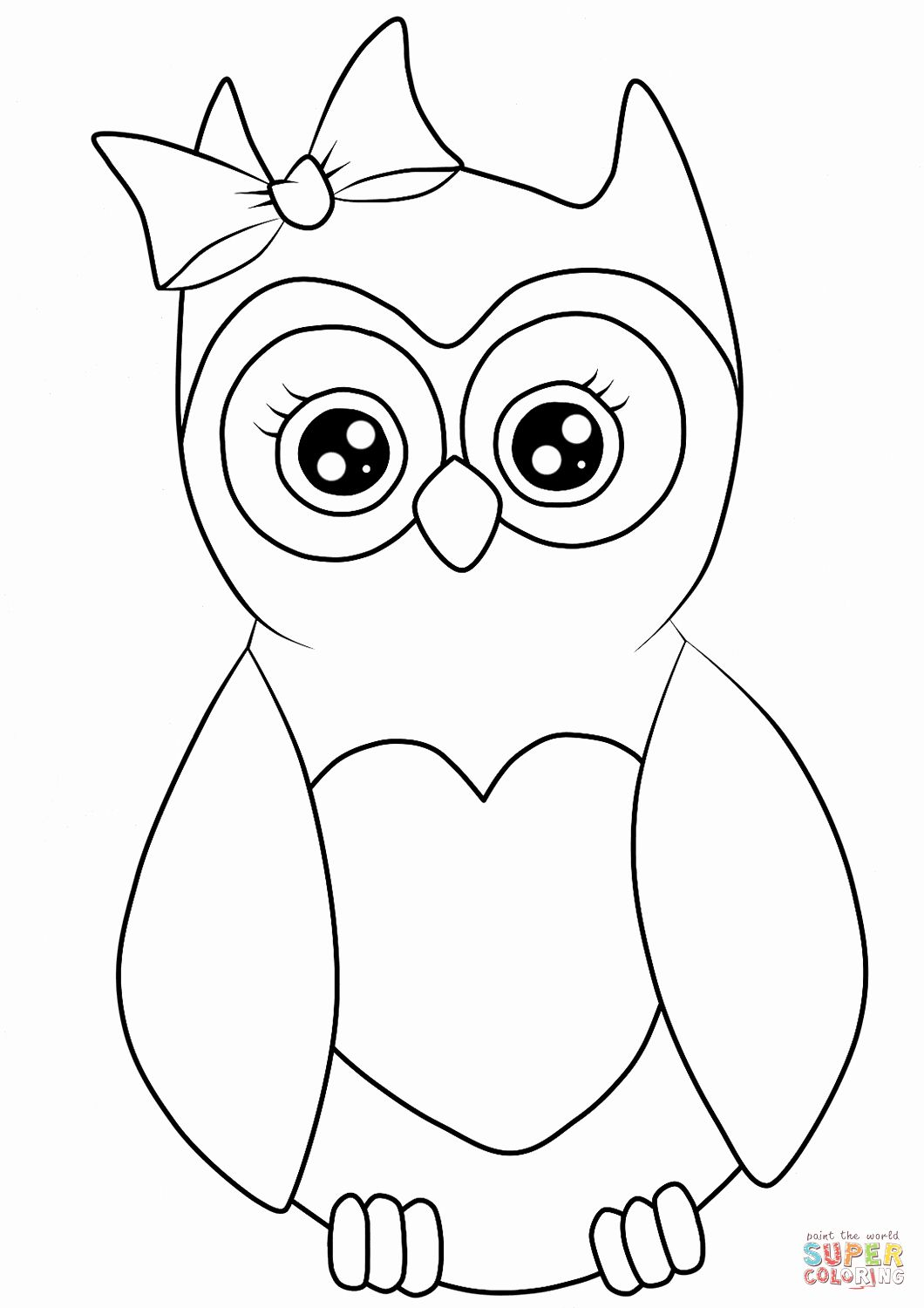 Cute Owl Coloring Pages Printable In 2020 Owl Coloring Pages Fox Coloring Page Bird Coloring Pages