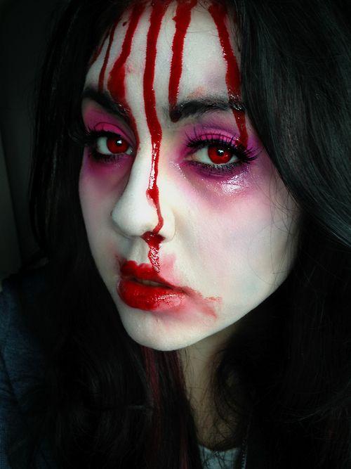 Dead Geisha makeup. | Halloween costume ideas | Pinterest | Geisha ...