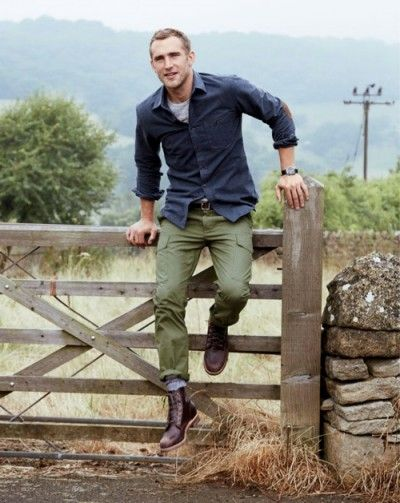 Green Olive Pants Colors Combos Textures Mens Fashion Style