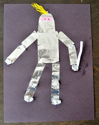 Medieval Knight Art Project
