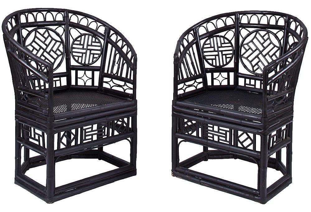Painted Bamboo Chairs Exactly Like The Ones I Bought On